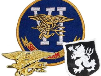 U.S. Navy Seal Team Six Pins and Patches