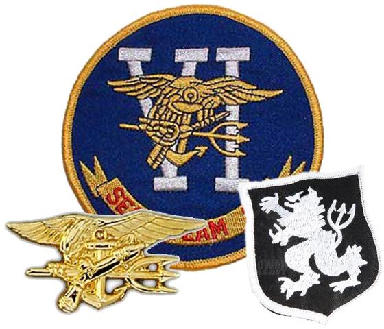 seal team. U.S. Navy Seal Team Six Pins