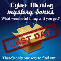 NeatoShop Cyber Monday Mystery Bonus