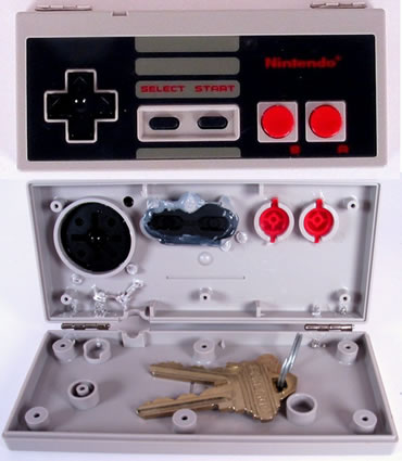 NES Controller Storage Box