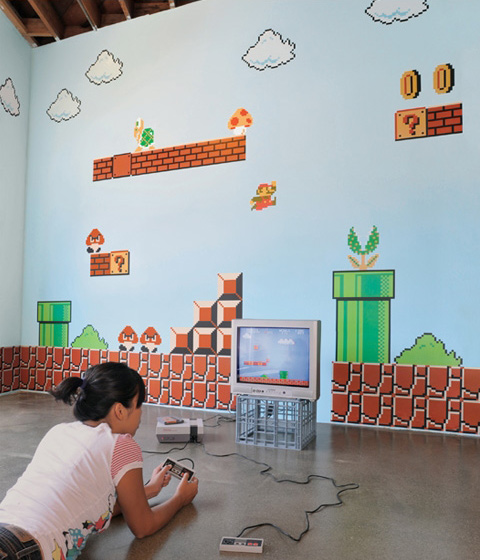 Nintendo Donkey Kong Super Mario Bros Wall Decal