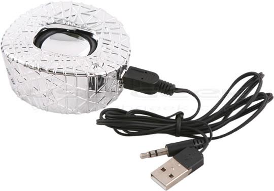 Birds Nest USB Speaker - Silver