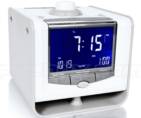 Neverlate Executive Alarm Clock with USB Port