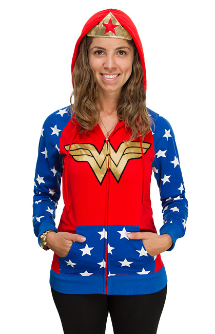new Wonder Woman Hoodie