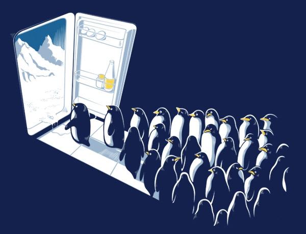 New Beginning Penguins T-shirt