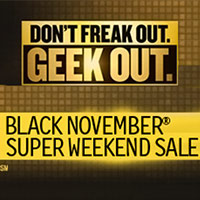 Newegg Black November Super Weekend Sale 2012