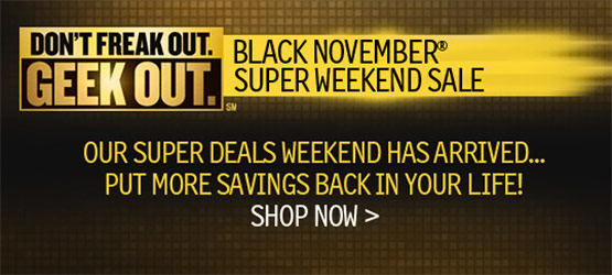 Newegg Black Novemeber Super Weekend Sale