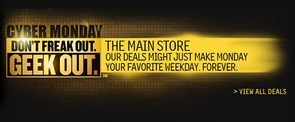 Newegg Cyber Monday Deals 2012