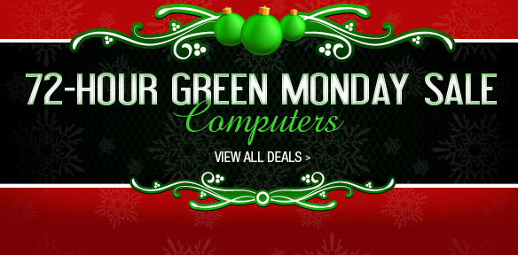 Green Monday Deals 2012