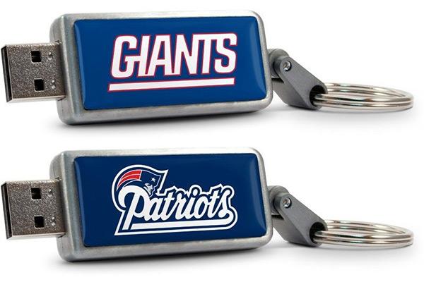 NFL Football Team USB Flash Drives
