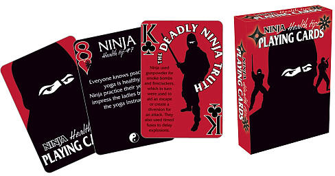 Ninja Playing Cards