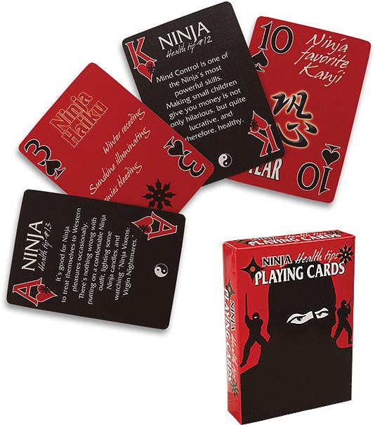 Ninja Tips Playing Cards