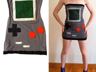 Nintendo Gameboy Tube Dress