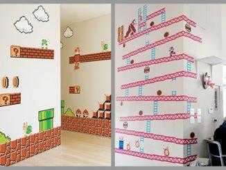 Nintendo Donkey Kong & Super Mario Bros Wall Graphics