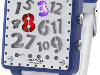 Nu Pop Movement Crazy Hour Watch