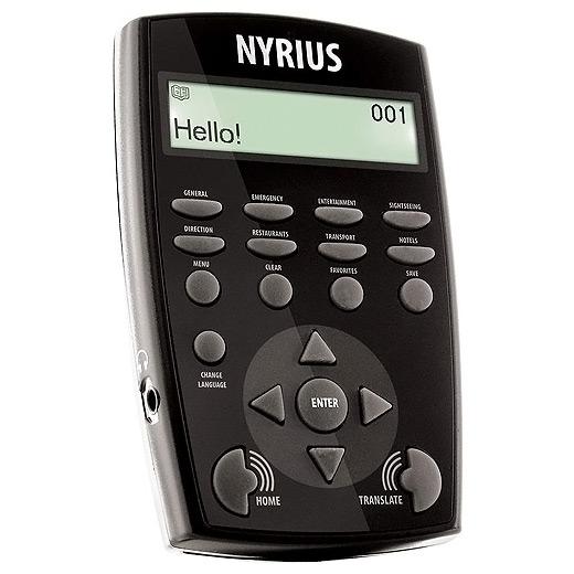 Nyrius Global 7 Language Talking Travel Translator
