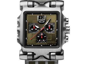 Oakley Minute Machine Unobtainium Strap Watch
