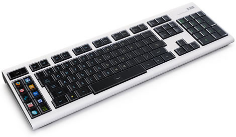 Optimus Maximus OLED Keyboard in White