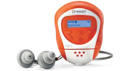 Oregon Scientific 128MB Waterproof mp3 Player w/ FM Radio