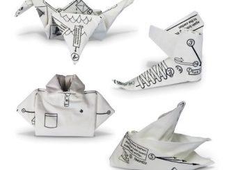 Origami Napkins