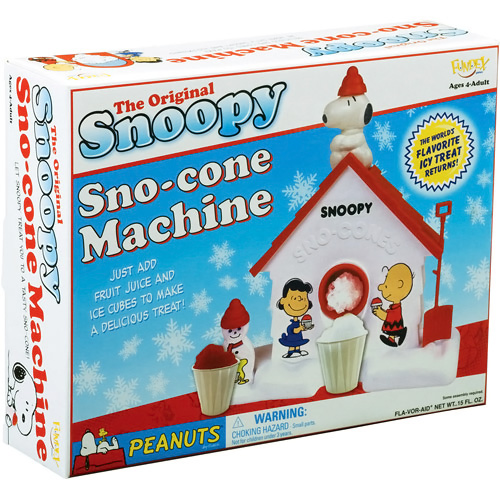 Original Snoopy Sno Cone Machine