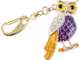 Owl USB Keyring