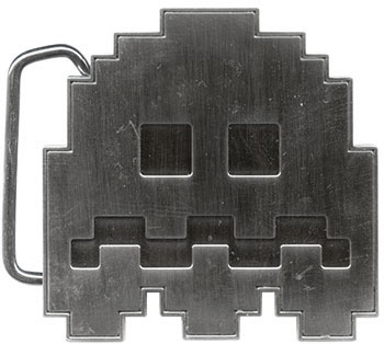 Pac-Man Ghost Belt Buckle
