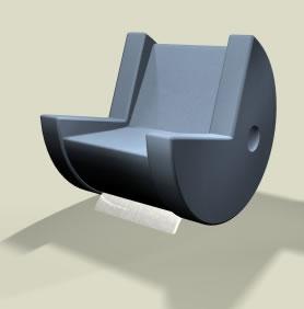 Pac-Man Chair
