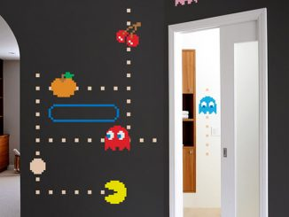 Blik Pac-Man Ghost Wall Decals