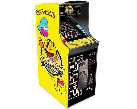 Authentic Pac-Man Arcade Game