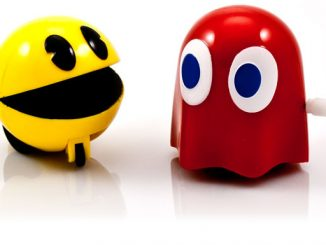 Pacman Wind Up Racers