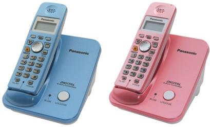 Cordless Panasonic Color Phone