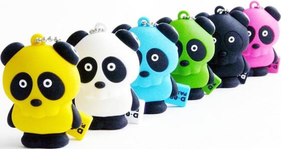 Panda Skull USB Memories