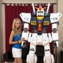 Paper Gundam Robot