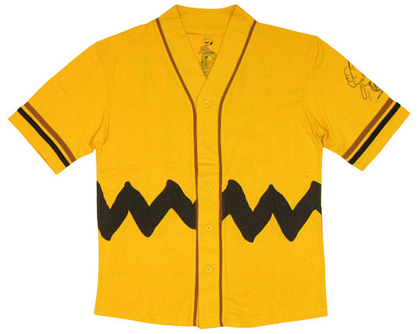 eef4575e4 Peanuts Charlie Brown Baseball Jersey