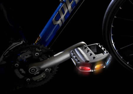 Pedalite – LED Light Pedals for Bicycles – GeekAlerts