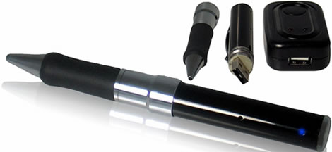 4GB Camcorder Pen