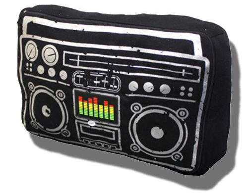 Ghetto Blaster Pillow