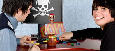 Pop-Up Pirate USB Hub