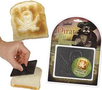 Pirate Toast Stamper