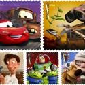 Pixar Postage Stamps