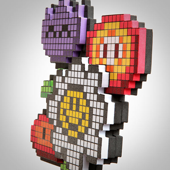 Pixel Flower Bouquet