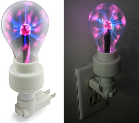 Plasma Bulb Night Light