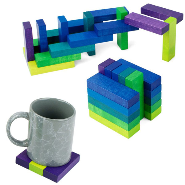 playableART Coaster Cube