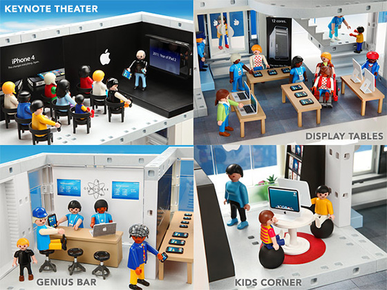 PLAYMOBIL Apple Store Set