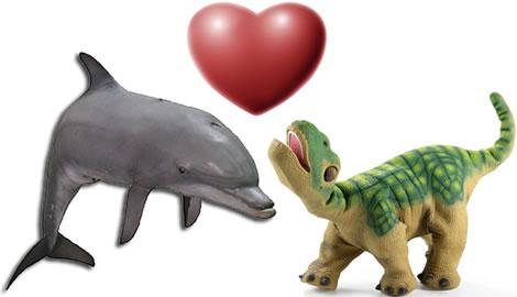 Dolphin and Pleo