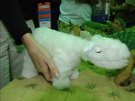 Pleo Lamb, photo by Steven Rainwater