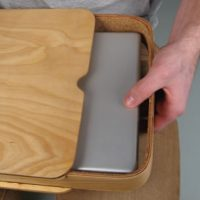 Laptop Case Made of Plywood
