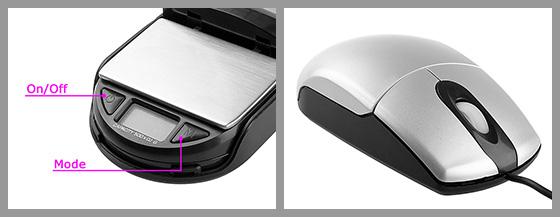 Pocket Digital Scale USB Mouse