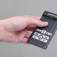 Wireless Pocket Touchpad with Media Controls